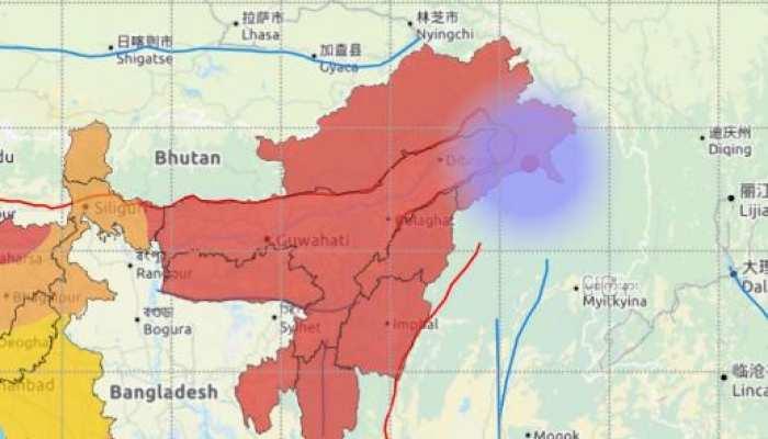Earthquake के झटकों से कांपा अरुणाचल प्रदेश, 3.5 रही रिक्टर स्केल पर तीव्रता