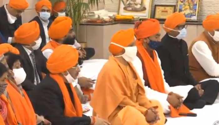 sahibzada divas at cm yogi adityanath 5 kd marg on chhote sahibzade shaheedi divas dvup