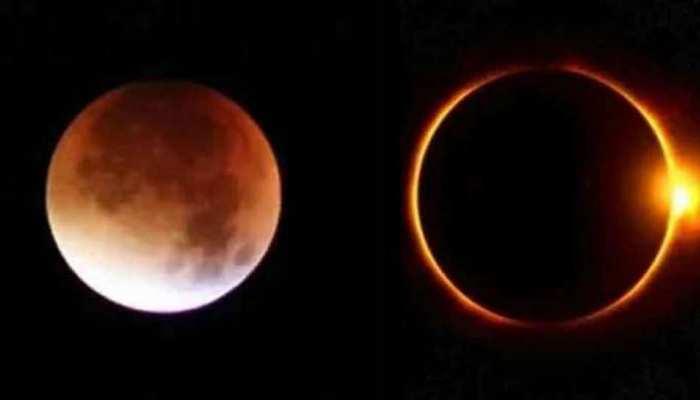 new year 2021 4 rare celestial events lunar eclipse lunar eclipse blood moon