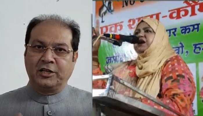 मुनव्वर राणा की बेटी की सियासत में एंट्री पर बोले रिजवी- आतंकियों का सम्मान कर रही सपा