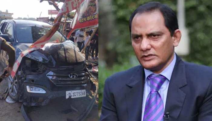 बाल-बाल बचे क्रिकेटर मोहम्मद अजहरुद्दीन, अचानक ढाबे में जा घुसी कार