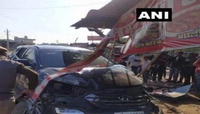 राजस्थान: पूर्व क्रिकेटर Mohammad Azharuddin की कार पलटी, एक घायल