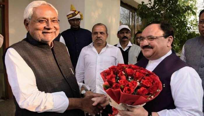 अरुणाचल की घटना के बाद 'डैमेज कंट्रोल' में जुटी BJP, नीतीश को बताया NDA का 'गार्जियन'