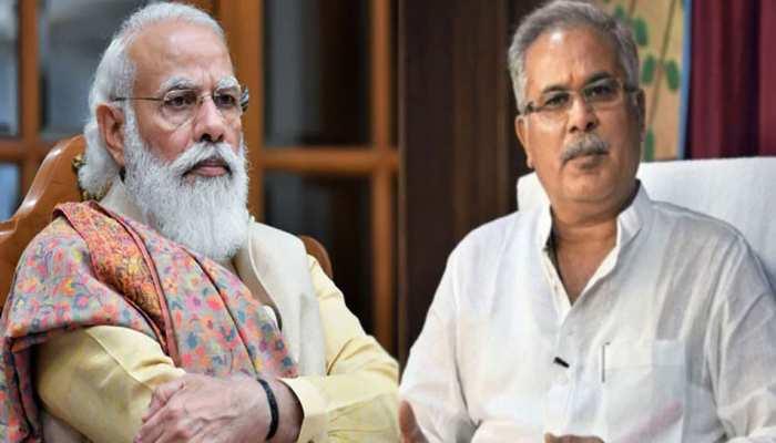भूपेश बघेल ने PM मोदी से फोन पर की बात, कहा- FCI ने उठवाया नहीं तो बर्बाद हो जाएगा धान