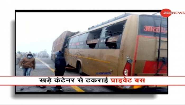 Unnao Accident: Lucknow-Agra Expressway पर सड़क हादसा, 4 की मौत; 7 घायल