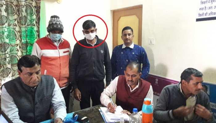 Churu: 15000 रुपये की रिश्वत लेते Consumer Complaint Attendant गिरफ्तार