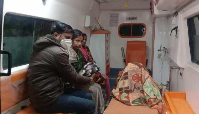 एम्बुलेंस में जन्मी लक्ष्मीः मेडिकल स्टाफ ने बीच रास्ते करवाई सफल डिलीवरी, मां-बेटी दोनों स्वस्थ