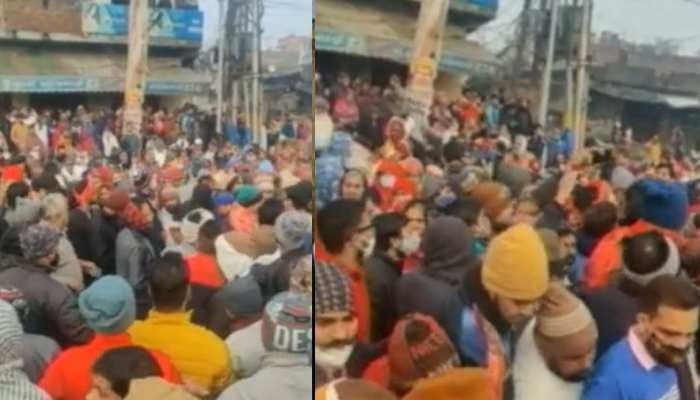 मुरादनगर हादसा: 3 आरोपी गिफ्तार, मौत का आंकड़ा पहुंचा 25, परिजनों ने किया रोड जाम