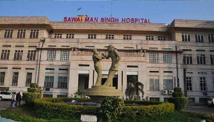 Jaipur SMS Hospital में बवाल, नर्सिंग स्टाफ को पीटा, ट्रोमा सेंटर में तोड़फोड़