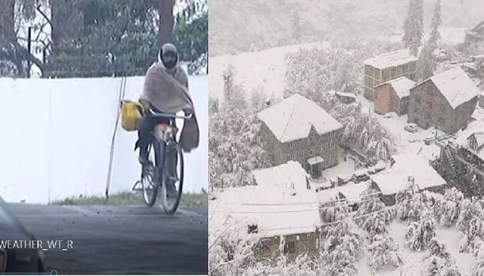 देवभूमि से जन्नत तक सर्दी की गलन से जीना हुआ मुहाल, मौसम विभाग ने जारी किया अलर्ट