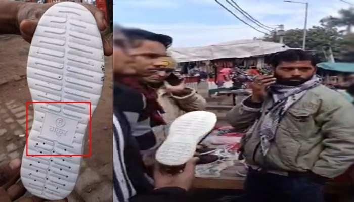 """गाड़ियों के बाद अब जूतों पर दिखा जातिवाद, बिक रहे हैं """"ठाकुर"""" ब्रांड के जूते, FIR दर्ज"""