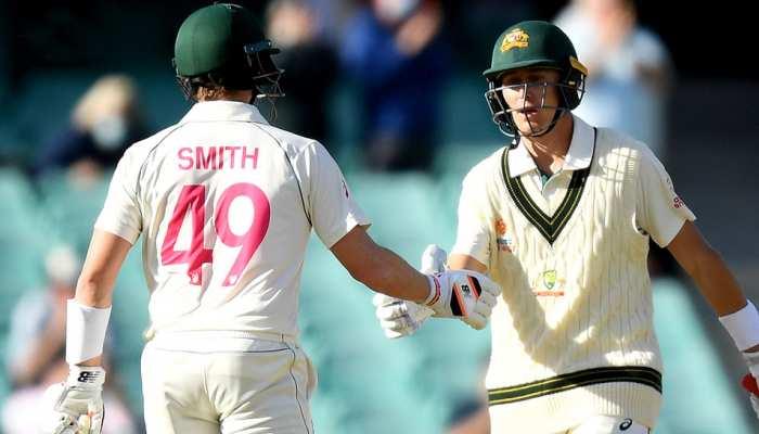 IND vs AUS Sydney Test Day 1: पुकोवस्की-लाबुशेन की फिफ्टी, स्टंप्स तक ऑस्ट्रेलिया-166/2
