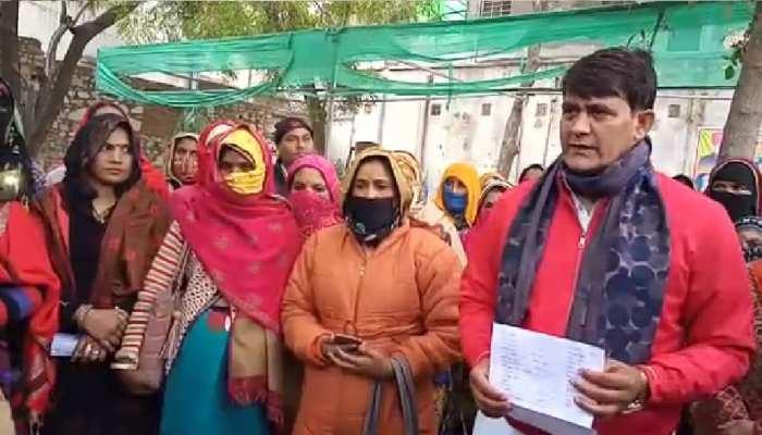 आशा सहयोगिनी पहुंची विधायक कार्यालय, MLA Ramlal Sharma को दिया ज्ञापन