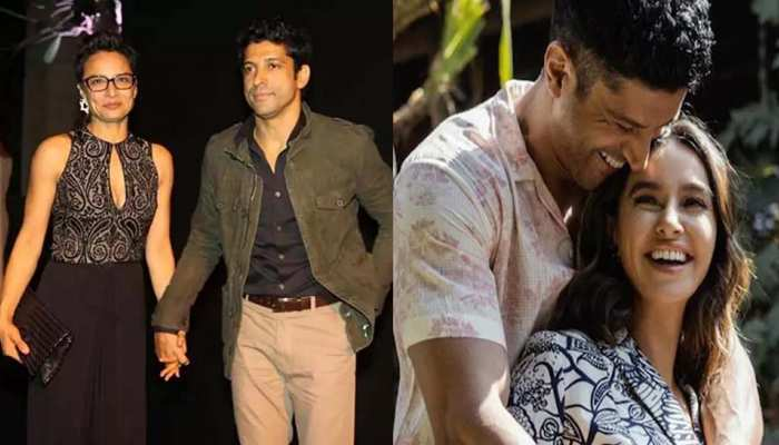 Birthday special Bollywood Actor Farhan Akhtar and girlfriend Shibani Dandekar photos