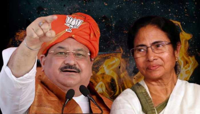 Nadda Vs Mamata: दीदी के गढ़ में जेपी नड्डा की दहाड़- 'ममता का जाना तय है'