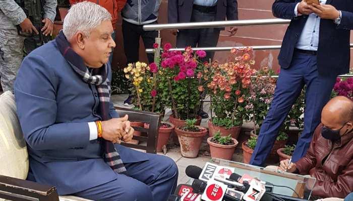 WB: राज्यपाल जगदीप धनखड़ का बड़ा आरोप, बंगाल में पैर पसार रहा है अलकायदा