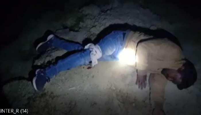 पुलिस एनकाउंटर में घायल हुआ शातिर बदमाश, एक मौके से फरार