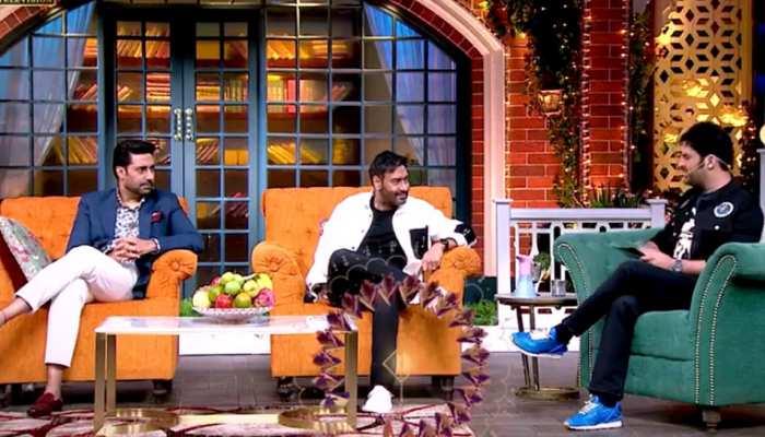 VIDEO: Ajay Devgn से सवाल पूछकर फंसे Kapil Sharma, हो गई बोलती बंद