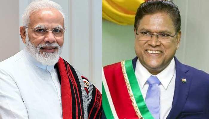 Republic Day Parade के चीफ गेस्ट होंगे सूरीनाम के राष्ट्रपति Chandrika Prasad Santokhi- सूत्र