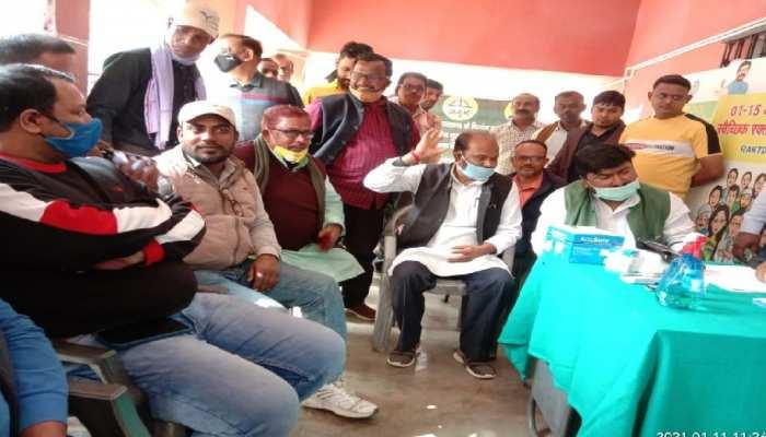 रांची: 77 साल के हुए दिशोम गुरु शिबू सोरेन, JMM ने रक्तदान शिविर का किया आयोजन