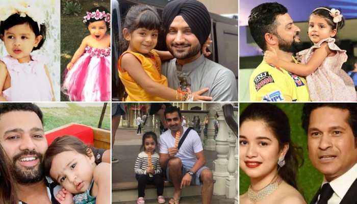 these cricketrs have girl child know their name and see photos