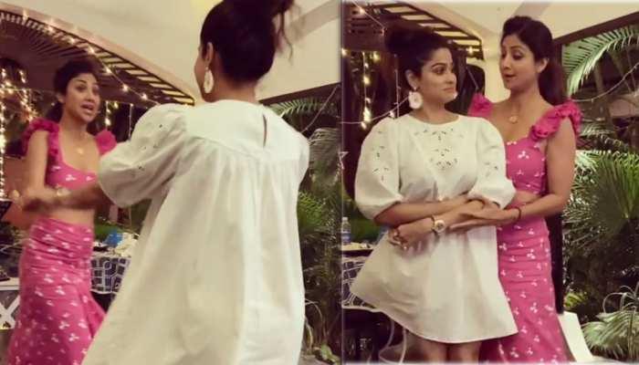 Shilpa Shetty ने किया शम्मी कपूर स्टाइल में डांस, VIDEO देख छूट जाएगी हंसी