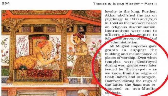 NCERT की किताबों में पढ़ाया जा रहा मुगलों का 'आधारहीन' इतिहास? विभाग के पास नहीं जवाब