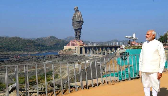 Statue of Unity पहुंचने की राह होगी आसान, पीएम Narendra Modi देंगे ये सौगात