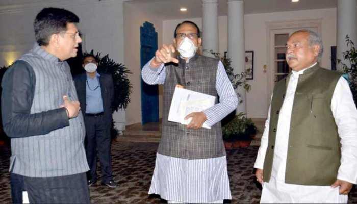 CM शिवराज ने कृषि मंत्री, रेल मंत्री से की मुलाकात, गेहूं खरीदी के मुद्दे पर केंद्र सरकार से की ये मांग