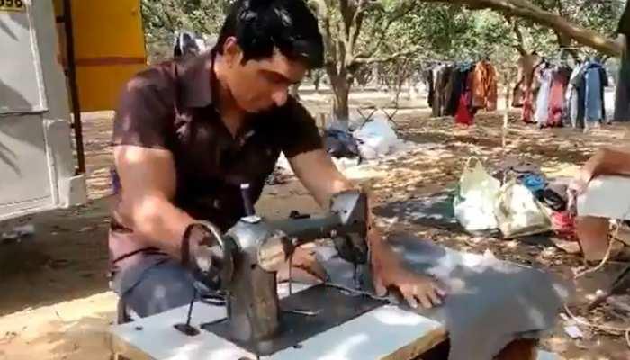 """अब टेलर बने Sonu Sood, लिखा- """"पैंट की जगह निकर बन गई तो..."""" देखिए VIDEO"""