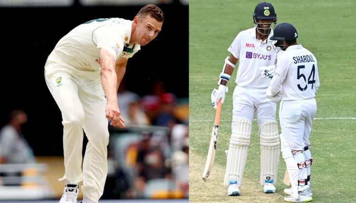 IND vs AUS Brisbane Test: Josh Hazlewood ने माना, 'Shardul Thakur और Washington Sundar ने ऑस्ट्रेलिया के प्लान को किया फेल'