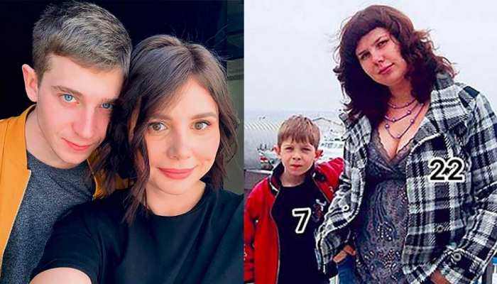 Russian woman Marina Balmasheva gives birth to baby girl fathered by her 21-year-old stepson Vladimir Shavyrin