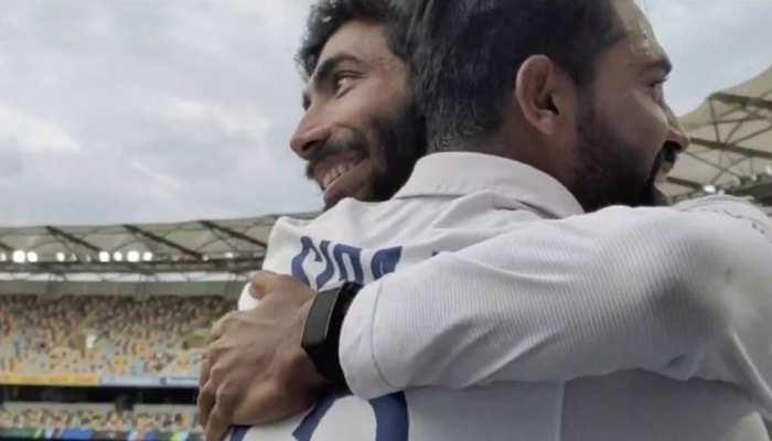 IND vs AUS Brisbane Test: Jasprit Bumrah ने Mohammad Siraj को क्यों लगाया गले?