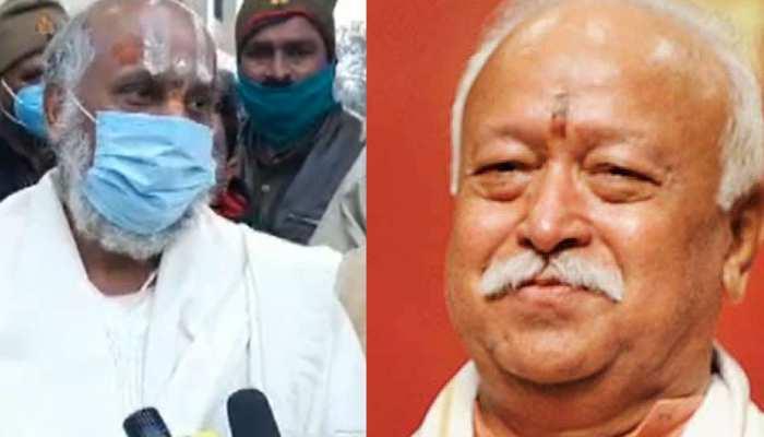 """RSS चीफ भागवत ने कहा- कृष्ण मंदिर भी बनेगा, काशी विश्वनाथ भी""- सुतीक्ष्ण दास महाराज"