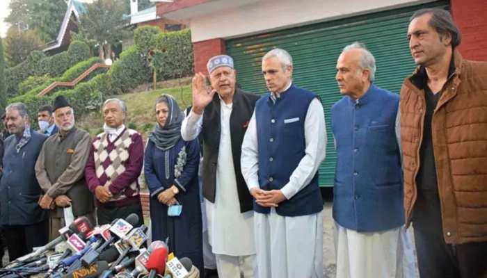 Gupkar Alliance में शुरू हुई टूट, पीपुल्स कॉन्फ्रेंस के Sajjad Lone ने तोड़ा गठबंधन से नाता