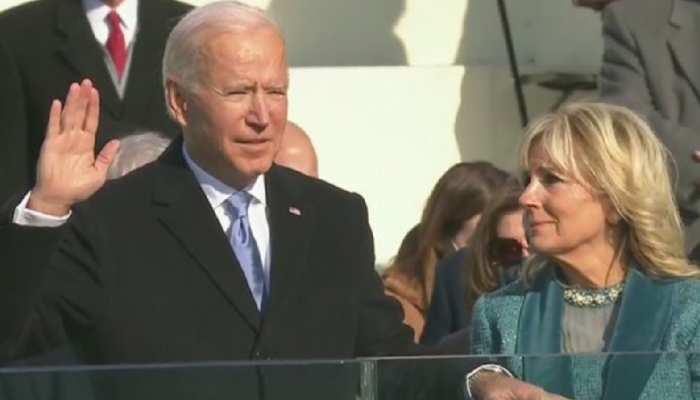 Joe Biden Inauguration Day: अमेरिका के 46वें राष्ट्रपति बने जो बाइडेन, कमला हैरिस ने रचा इतिहास
