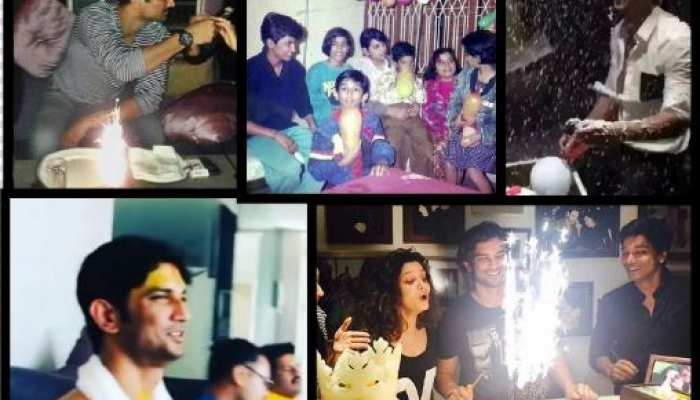 Sushant singh rajput celebrated his birthday in previous year