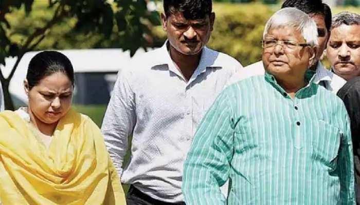 Lalu Yadav की तबीयत को लेकर परिवार चिंतित, पिता से मिलने पहुंची Misa Bharti