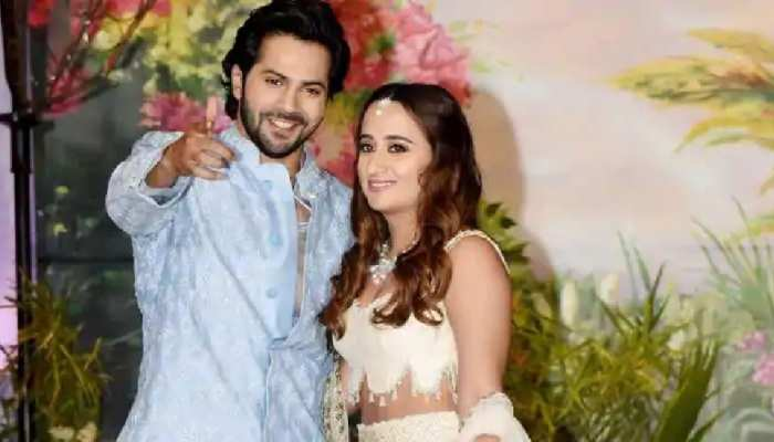 See photos of  Varun Dhawan-Natasha Dalal Wedding Venue The Mansion House which is decorated very beautifully