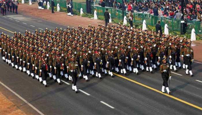 republic day full dress rehearsal 23 january update, India gate new delhi