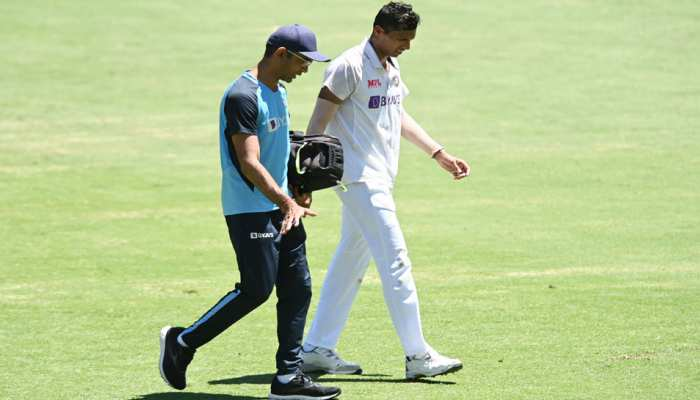 Brisbane Test में चोट के बावजूद Ajinkya Rahane को गेंदबाजी के लिए मना नहीं कर पाए Navdeep Saini