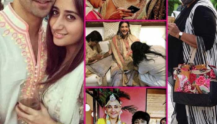 Before Varun Dhawan-Natasha Dalal wedding celebrity artist Veena Nagda has applied  Mehandi on these stars see photos