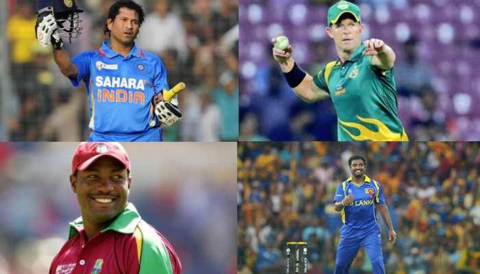 क्रिकेट के मैदान में उतरेंगे सचिन, लारा, मुरली, ब्रेट ली, और जॉन्टी रोड्स, छत्तीसगढ़ में होगा टूर्नामेंट