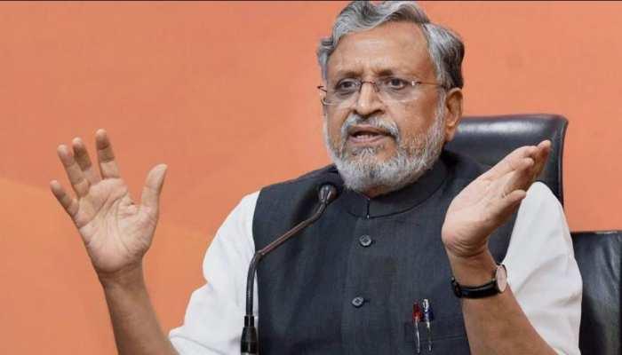 भारत का Corona Vaccine-Sensex का 50000 का आंकड़ा छूना राहुल को नहीं सुहाता- Sushil Modi