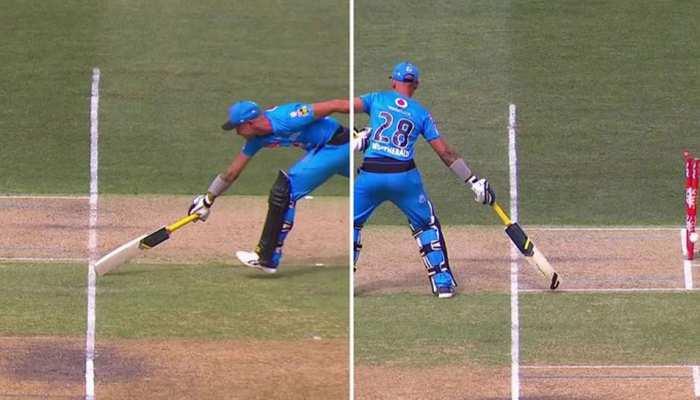 Big Bash League: जब एक ही गेंद पर 2 बार रन आउट हुआ बल्लेबाज, देखें वीडियो