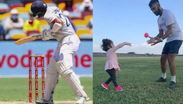 Birthday Special: Cheteshwar Pujara daughter Aditi said after his father injured in Brisbane, When he comes home, I will kiss where he is hurt, he will be fine