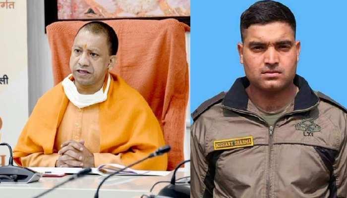 पाक गोलीबारी में शहीद हुए सहारनपुर के निशांत शर्मा, CM योगी परिवार को देंगे 50 लाख और सरकारी नौकरी