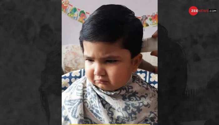 नाई को धमकी देने वाले cute बच्चे का दूसरा वीडियो हुआ वायरल, यहां देखें