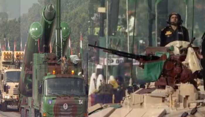 Republic Day समारोह में राजपथ पर दिखी राष्ट्र की ताकत