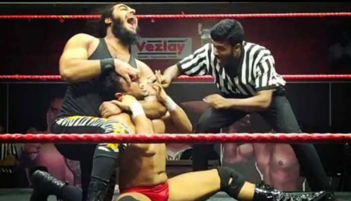 The great khali is making in second Indian WWE superstar name Badshah Khan from Kashmir